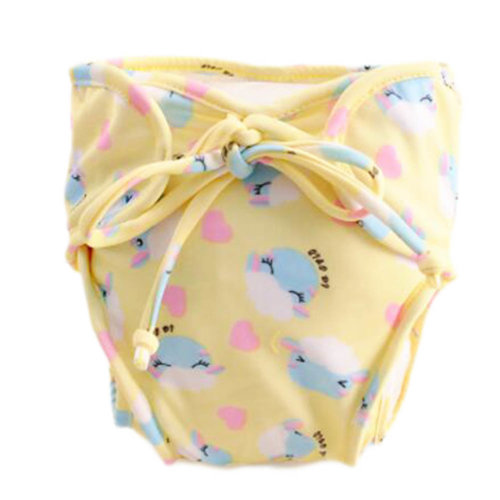 Reusable Swim Diaper Adjustable Absorbent Shower Diapers for Baby Toddler, A15