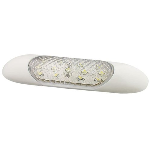 LED Autolamps LED Interior Strip Lamp 10 cm White Vehicle Lighting 1016-12