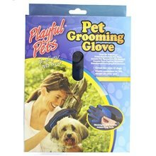 Playful Pets Pet Grooming And Deshedding Glove - Dog Gentle Cat Brush Massage -  glove grooming deshedding pet dog gentle cat brush massage true