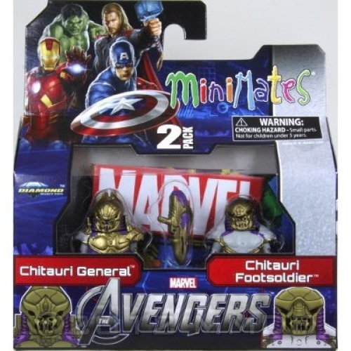 Minimates: Marvel Series 45 Chitauri General and Chitauri Footsoldier 2-Pack
