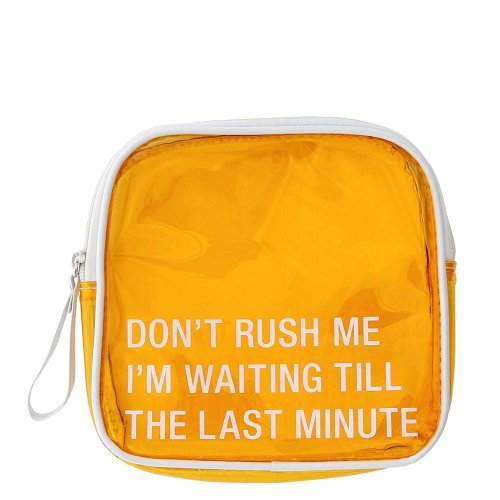 About Face 'Don't Rush Me' Cosmetic Bag