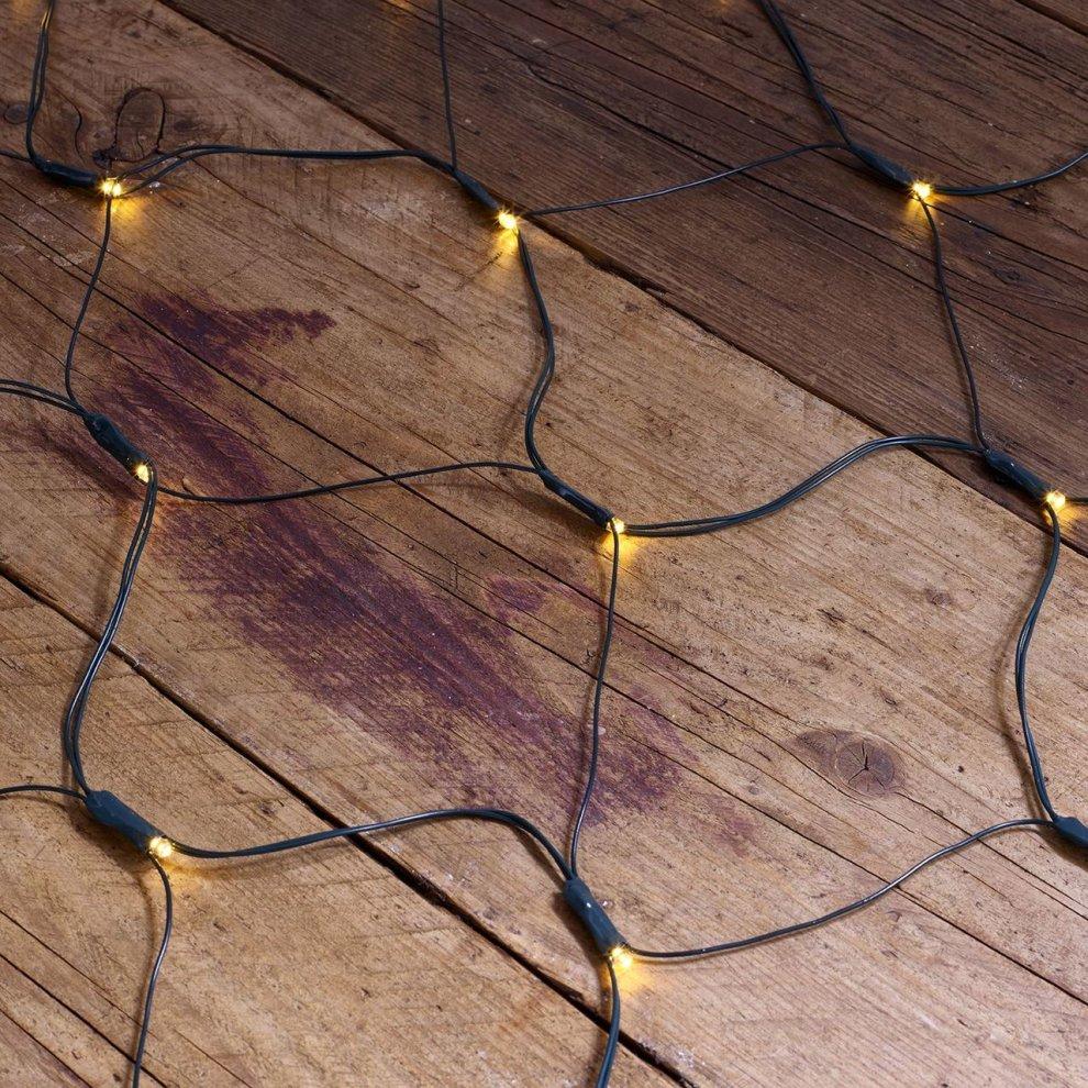 Vinsani 105 Led Solar Ed Cool White Net Lights Outdoor Garden Fairy String 3