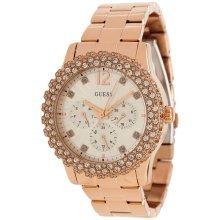 GUESS Rose Gold-Tone Shimmering Ladies Watch U0335L3