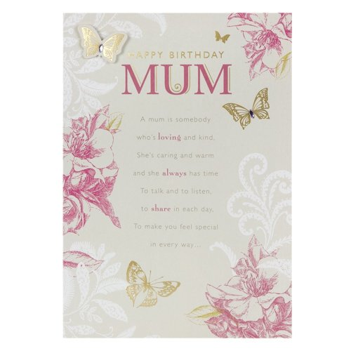 Hallmark Birthday Card for Mum, With Love Always - Medium
