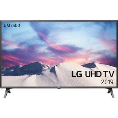 "Lg 50UM7500PLA 126 Cm 49.6"" Smart Led-Lcd Tv 4K Uhdtv Black Dark Silver Led 50UM7500PLA"