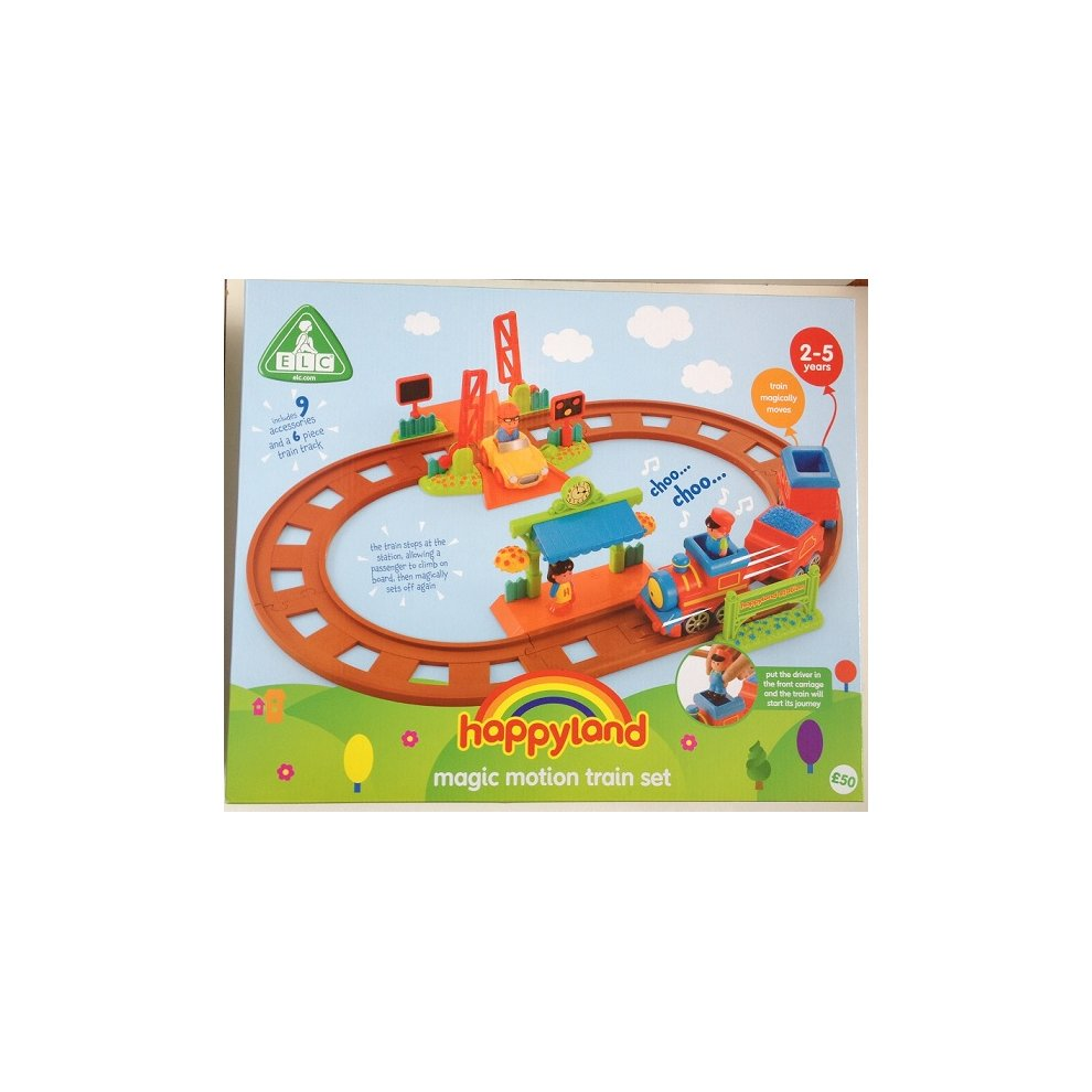Early Learning Centre Happyland Train Set On Onbuy