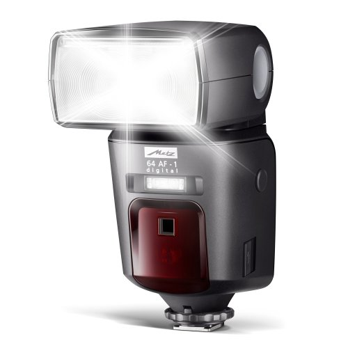 Metz 64 AF-1 Digital Flashgun for Nikon - Black