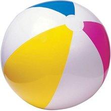 50cm Inflatable Beach Ball - Fun Summer Party Holiday Swimming Garden -  beach ball inflatable fun summer 50cm party holiday swimming garden