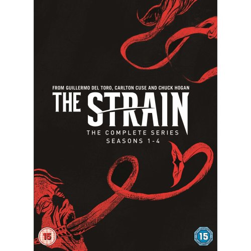 The Strain Complete Series, Seasons 1-4 [DVD] [2018]