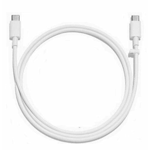 Genuine Official Google Type C USB Type C to USB Type C USB Data Cable for Pixel 2 / 3 / 3a XL - White (Bulk Packed)