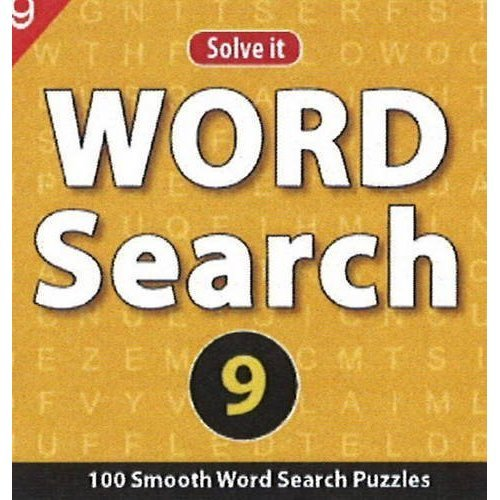 Word Search 9: 100 Smooth Word Search Puzzles [Jul 23, 2013] Leads Press