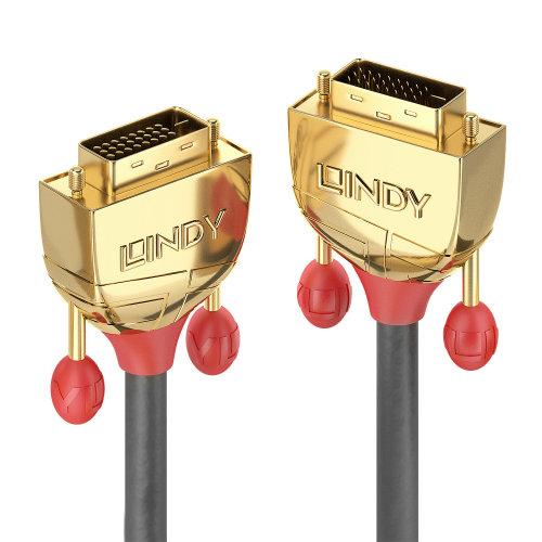 Lindy 36202 DVI cable 2 m DVI-D Grey
