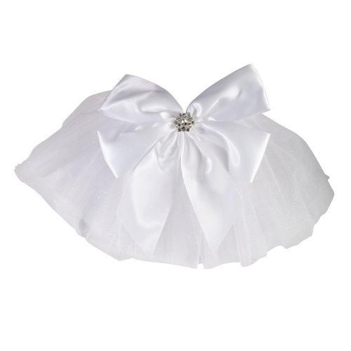 Bride White Swimsuit Fanny Veil