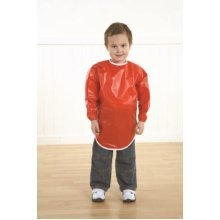 Childrens Waterproof PVC Aprons 5-6 Years (A1445)