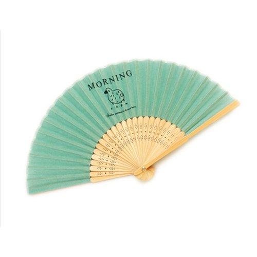 Contracted Country Style Folding Fan Summer Fan Random Color