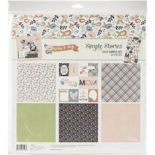 """Simple Stories Simple Sets Collection Kit 12""""X12""""-Mom's Day"""