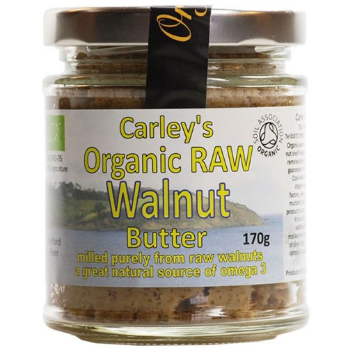Carley's Organic Raw Walnut Butter 170g