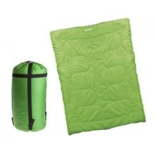 Double Sleeping Bag - Green - Summit -  double sleeping bag green summit