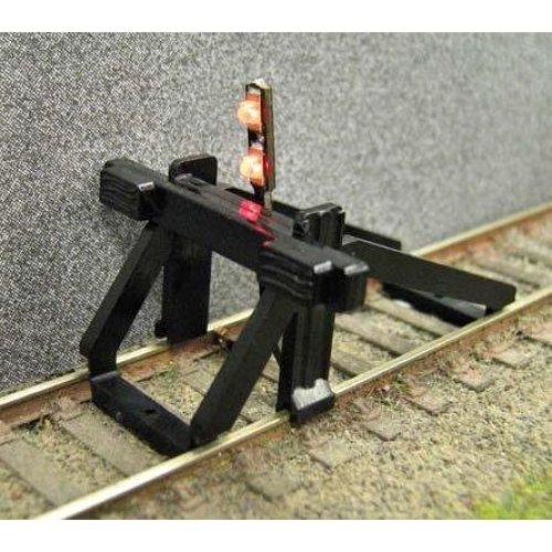 Gaugemaster GM-GM55 Buffer Stop OO Scale with Light