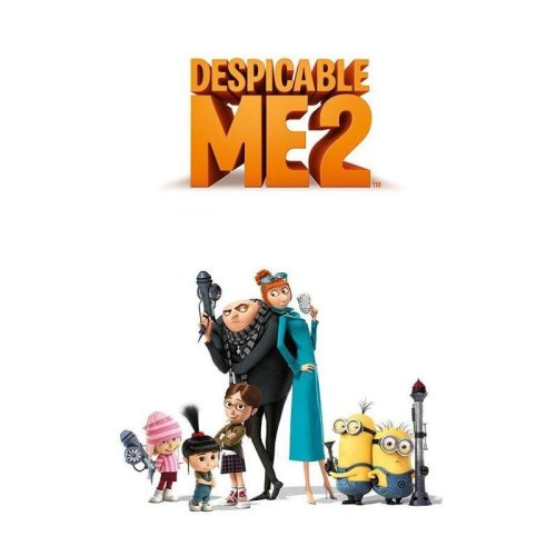 Poster Gru 2 Personajes
