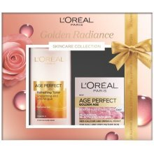 L'oreal Golden Radiance Skincare Collection, Gift Set - Toner and Cream