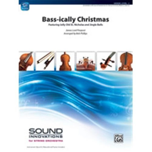 Alfred 00-45862 Bass-ically Christmas by James Lord Pierpont - arr. Bob Phillips