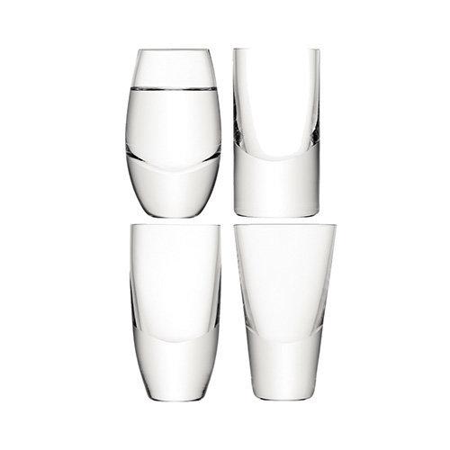 Lulu Set of 4 Vodka Glasses