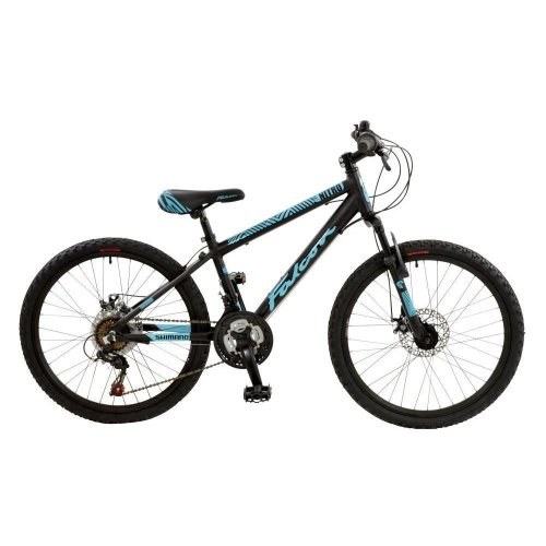 "Falcon Nitro Boys 24"" Wheel 18 Speed Alloy Hard Tail MTB Bike Cycle F2414034-1"