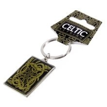 Celtic Metal Keyring Trinity Knot Pagan Wiccan Souvenir Gift New Key Chain Scottish Welsh Irish