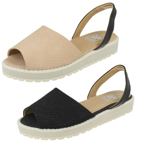 Ladies Down To Earth Slingback Casual Sandals