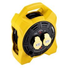 Defender Box 20mtr Cable Extension Reel 110v/16a E86540