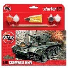 Air55109 - Airfix Small Starter Set - 1:76 - Cromwell Mkiv Tank