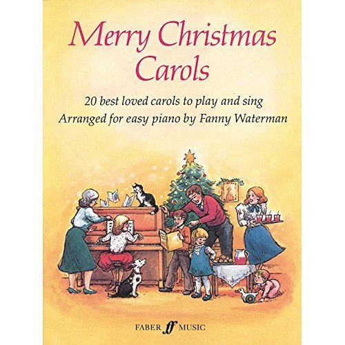 Merry Christmas Carols (Piano, Voice)