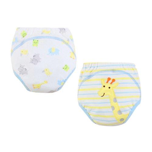 [Giraff] Baby Toilet Training Pants Nappy Underwear Cloth Diaper 15.4-26.4Lbs