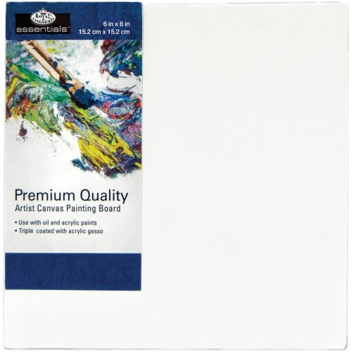 "Essentials(Tm) Premium Canvas Board-6""X6"""