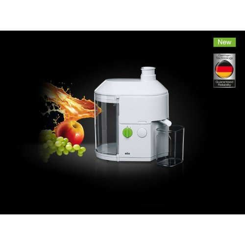 Braun SJ3000 Tribute Collection Spin Juicer Extractor White 600W
