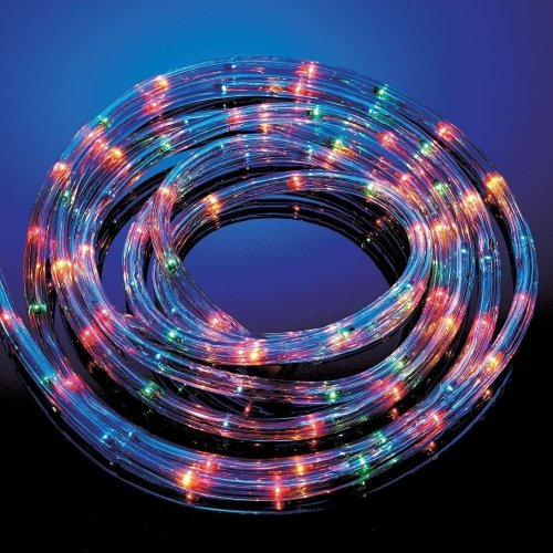 Sentik 6M Multi Coloured Rope Light Outdoor Indoor Party Lights Christmas Xmas