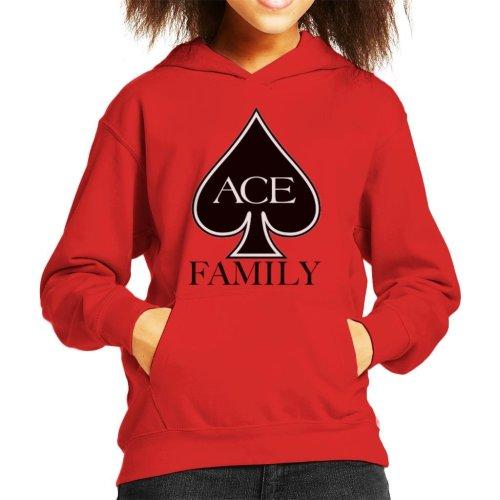 Ace Family Logo Kid's Hooded Sweatshirt