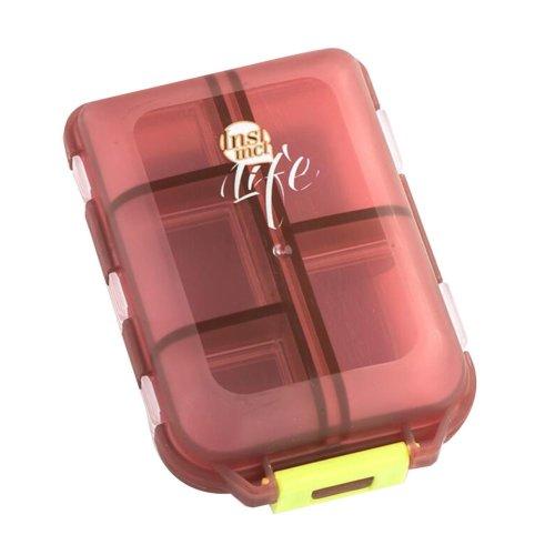 Pill Organizer Travel Medicine Tablets Holder