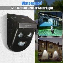 Gardening Solar Wireless PIR Sensor