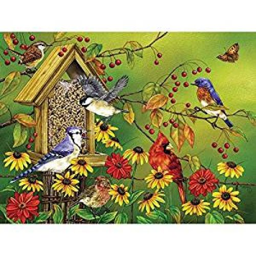 CBL88023 - Cobblehill Puzzles XL 275 pc - Fall Feast