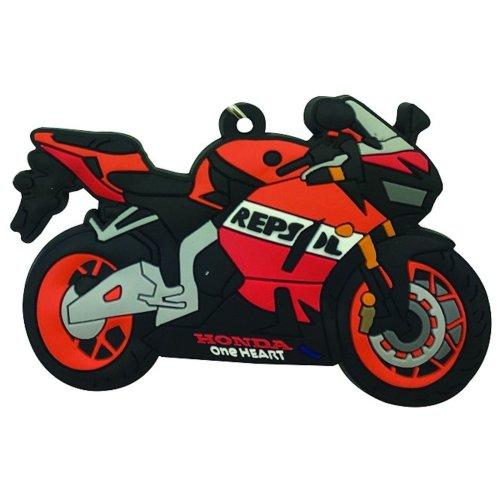 Honda CBR 600 RR rubber key ring motor bike cycle gift chain keyring
