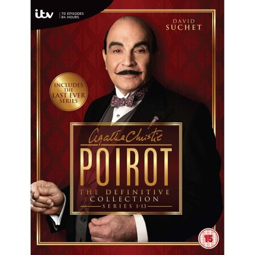 Agatha Christies Poirot - Series 1-13: The Definitive Collection [DVD]