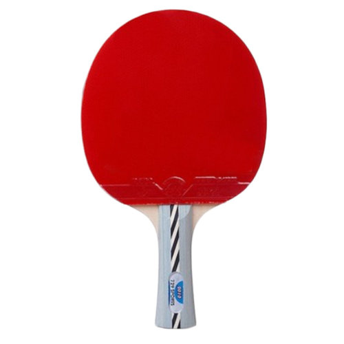 Table Tennis Racket Shake Hand Rackets, Long Wathet Blue Handle