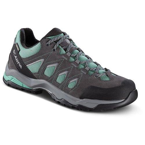 Scarpa Womens Moraine GTX Shoes Storm Grey/Lagoon (UK4.25 / EU37 GORE-TEX)