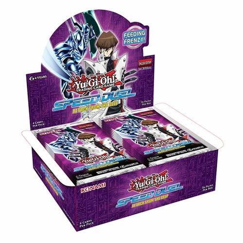 Yu-Gi-Oh! Speed Duel Attack from the Deep Booster Full Display Box - English