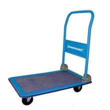 Silverline Folding Platform Truck 150kg - 675213 Trolley 100kg -  platform folding truck silverline 675213 150kg trolley 100kg