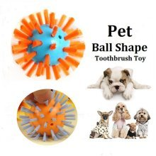 Creative Pet Toothbrush Toy Ball Shape Dog Cat Chewing Toy