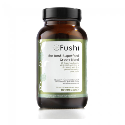 Fushi  The Best Superfood Green Blend & Fibrectin 150g