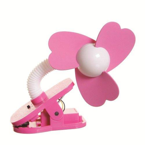 Dreambaby Portable Stroller Fan in Pink